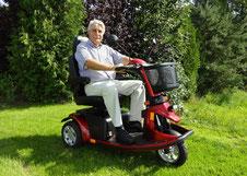 Elektromobile mit 3 Rädern