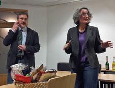 Frauke Thees würdigte die ausgeprägte Kollegialität Ehrigs. Foto: Fühner