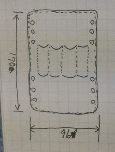 Pen4lderの初期デザインの手書き写真