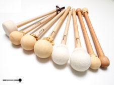 Schlägel von Markus Ridderbusch für Große Trommel (Bass Drum) im Vergleich
