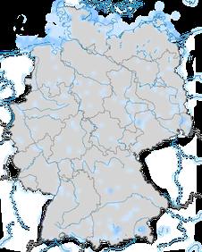 Karte zur Verbreitung der Seetaucher