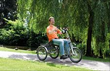 Dreiräder Probe fahren