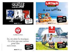 Swigg, Latina, Oüi FM et Voltage, c'est mieux avec un poste DAB+