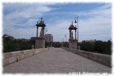 El Puente del Mar  servía hace siglos para atraque de pequeños barcos.