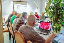 Computerkurs der Volkssolidarität Zühlsdorf