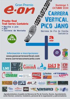 IV JANO CARRERA VERTICAL - Bárcena Píe de Concha, 05-10-2014