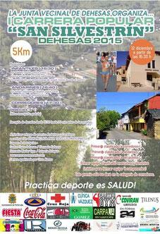 "I CARRERA ""SAN SILVESTRIN"" - Dehesas, 12-12-2015"