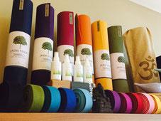 Jade Yogamatten bieten, was Du von einer Yogamatte wünschst: Tolle Farben, guter Gripp und Dämpfung und sind umweltfreundlich. Gerne beraten wir Dich bei uns im Yogashop.