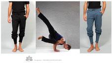 Schlichte, einfache Modelle mit höchster Wohlfühlqualität. Eben eingetroffen: Legere Organic Cotton Yoga Hosen und Shirts für die Yoga Praxis, Sport und Freizeit.