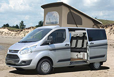 Ford Transit  campervan roof