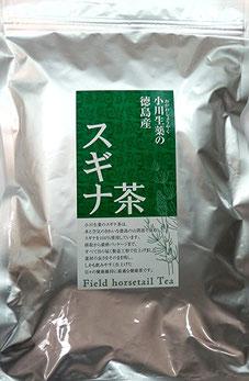 徳島産スギナ茶ティーバッグ 3gx40p 小川生薬のスギナ茶は、水と空気のきれいな徳島の山間部で採取したスギナを100%使用しています。採取から最終パッケージまで、すべて目の届く製造工程で仕上げました。つかいやすいティーバックタイプ、保管に便利なアルミチャック付袋を使用。残留農薬200項目検査済み。素材の良さをそのまま残し、しかも飲みやすく仕上げた健康維持に適した健康茶です。