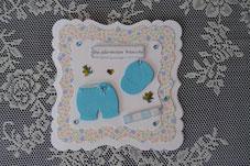 Glückwunschkarte für Babys