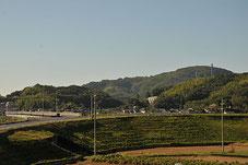 岡山県倉敷市真備町 井上ぶどう園近辺