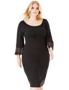 elegantes Kleid in großen Größen