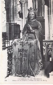 Jeanne d'Armagnac au lieu de Jeanne de Boulogne (entre 1842 et 1911)