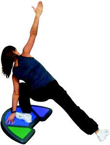 Rampe inclinée semi-circulaire ou step incliné de fitness de qualité à acheter pas cher. Matériel de rampe inclinée de fitness et gymnastique enfant de qualité au meilleur prix.