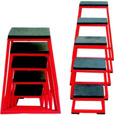 Ensemble de plateformes pliométriques de fitness de qualité à acheter pas cher. Matériel de plateformes pliométriques de fitness et gymnastique enfant de qualité au meilleur prix.