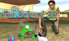 Title Screen My Pet School 3D