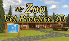 Title Screen My Zoo Vet Practice 3D