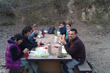 Almuerzo en la Font de Castro