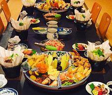 徳島市 浜仲 座敷 広間 宴会 慶弔料理