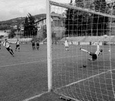 23': Bocchi trasforma il calcio di rigore