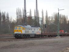Im Jahr 2014 werden im ehemaligen Rbf Wedau wieder einige Gleise reaktiviert.