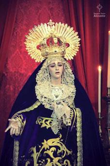 Bendición de María Stma. del Mayor Dolor