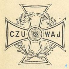 Krzyż Harcerski wg. projektu ks. Kazimierza Lutosławskiego