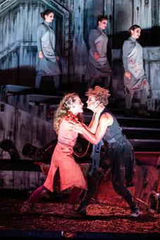 Angela Ahlheim als Chrysothemis in Hofmannthals Elektra im Theater zum Fürchten Wien