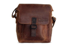 Margelisch leather messenger bag Bex