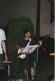 Laurent à Antony en Juin 2002