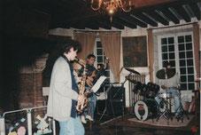 Carole au Saxo en 1996