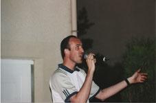Eric à Antony en juin 2002