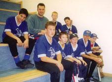 Jugendteam um das Jahr 2004