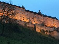 Beeindruckende Burg