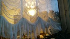 Licht im Elvis-Hotel Grunewald, Bad Nauheim