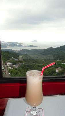 Milchtee, Jiufen, Taiwan, Taipeh, Tapei, Foodblog, Food Guide, Essen in Taiwan, Trinken in Taiwan, Fettnäpfchen, Brühe, Wasser, Asien, Südostasien
