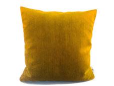 Samtkissen 40 cm x 40 cm, gold / gelb