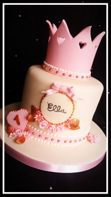 beautiful princess birthday cake-cake inspirations-wingate durham