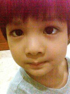 末っ子・佑真君4歳。わんぱくで可愛い盛り!