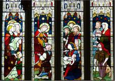 """<img src=""""http://www.heiler.org/bilder/kirchenfenster.jpg"""" alt=""""Kirchenfenster mit der Darstellung: Jesus als Heiler von verschiedenen Krankheiten. """" />"""