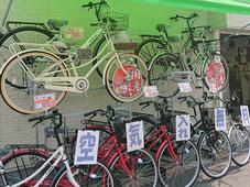 軽快車、電動自転車、子供車