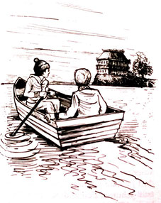 Jim, Uli und das Haus auf der Landzunge