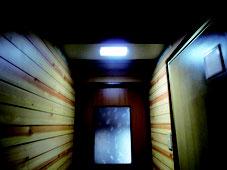 トイレ前廊下スリット 施工後