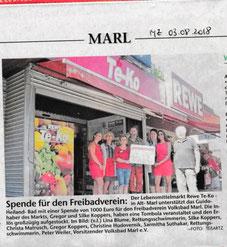 Marler Zeitung vom 03.08.2018