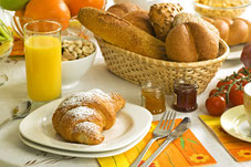 Frühstück vor dem Heidepark Besuch