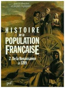 Histoire de la population française-  De la renaissance à 1789 (Tome 2)