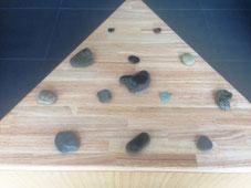 石のひとつひとつが抱えている音の記憶。