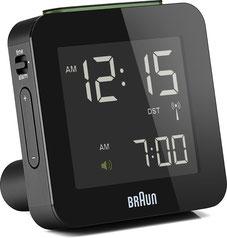 Braun Global Radio Travel Clock